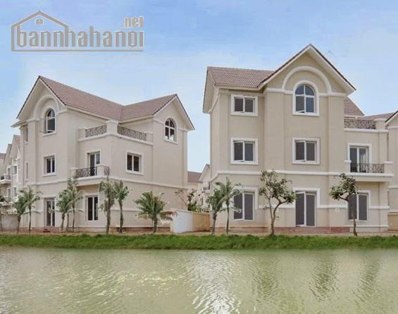 Bán biệt thự Sài Đồng 220m2 lô góc view hồ giá 19,8tỷ