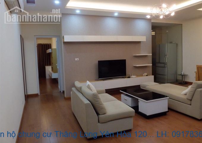 Bán căn hộ chung cư Thăng Long Yên Hòa 120m2 giá 23tr/m