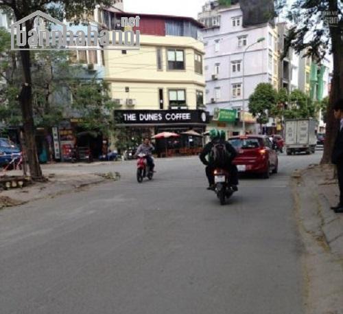 Bán đất đấu giá phố Trần Thái Tông 122m2 MT:7m