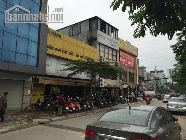 Bán đất mặt phố Nguyễn Ngọc Vũ 180m2 MT:7m giá 40tỷ