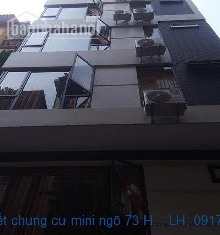Bán gấp trước tết chung cư mini ngõ 73 Hoàng Ngân 112m2 giá rẻ