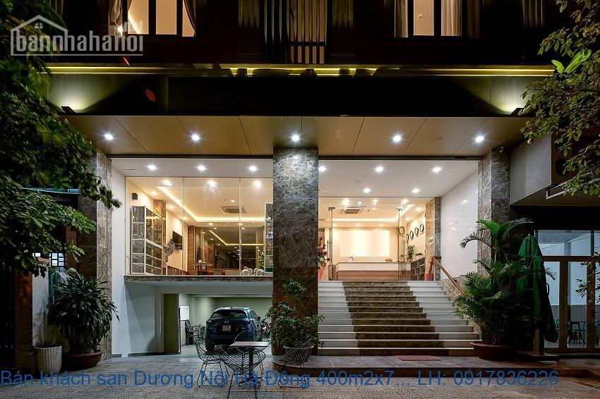 Bán khách sạn Dương Nội Hà Đông 400m2x7T 35phòng giá 52tỷ