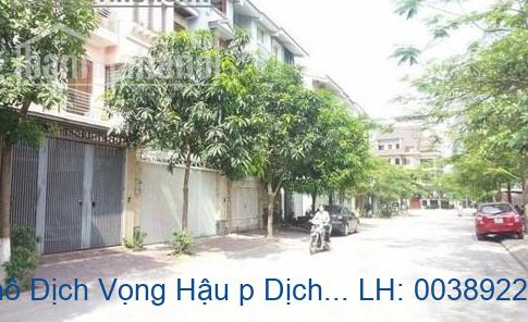 Bán nhà mặt phố Dịch Vọng Hậu p Dịch Vọng Hậu, Cầu Giấy 147m2