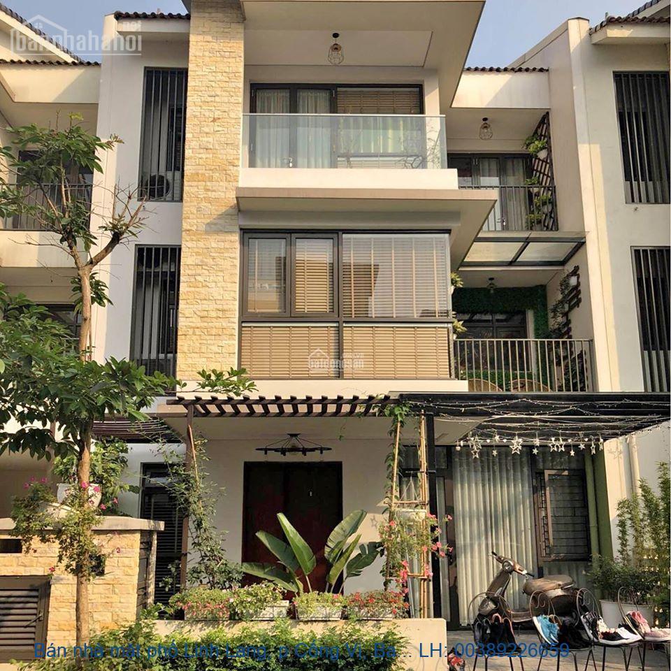 Bán nhà mặt phố Linh Lang, p Cống Vị, Ba Đình 210m2 giá 58,5 tỷ