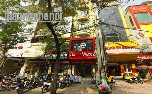 Bán nhà mặt phố Thái Hà 69m2x5T MT:4,3m giá 34tỷ