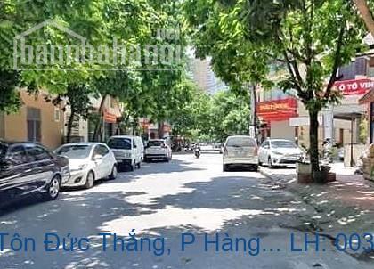 Bán nhà mặt phố Tôn Đức Thắng, P Hàng Bột, Đống Đa 130m2 giá 40,