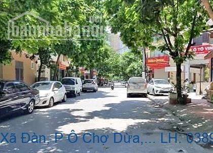 Bán nhà mặt phố Xã Đàn, P Ô Chợ Dừa, Đống Đa 45m2 giá 24,5 tỷ