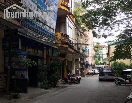 Bán nhà ngõ 83 Trần Duy Hưng 40m2x4T MT:3,8m giá 8,2ty