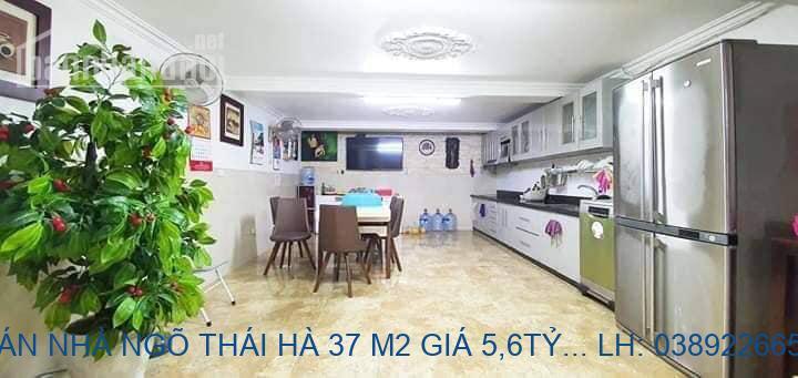 BÁN NHÀ NGÕ THÁI HÀ 37 M2 GIÁ 5,6TỶ