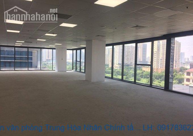 Bán sàn văn phòng Trung Hòa Nhân Chính tầng 1 dt 700m2 giá 32tỷ