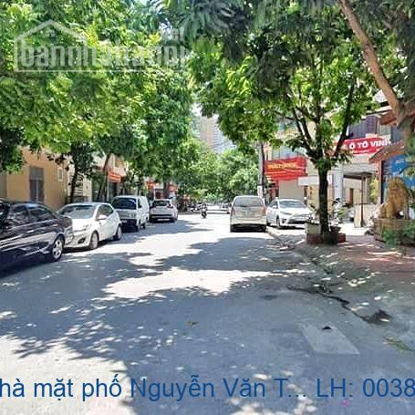Chính chủ bán nhà mặt phố Nguyễn Văn Tuyết, Đống Đa 240m2 giá 58