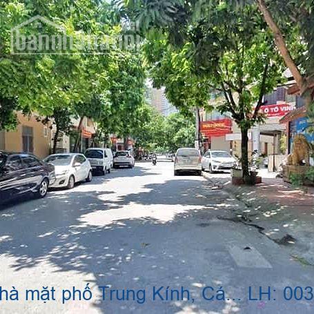 Chính chủ bán nhà mặt phố Trung Kính, Cầu Giấy 90m2 giá 33 tỷ