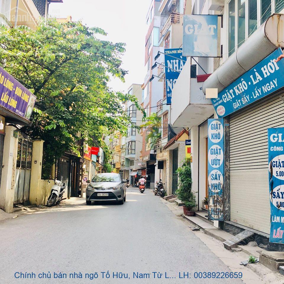 Chính chủ bán nhà ngõ Tố Hữu, Nam Từ Liêm 100m2 giá 9 tỷ