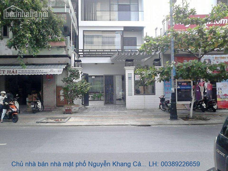 Chủ nhà bán nhà mặt phố Nguyễn Khang Cầu Giấy 130m2 giá 45tỷ